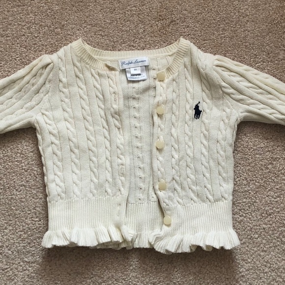 Ralph Lauren Other - Ralph Lauren baby girl sweater